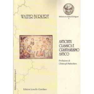 Antichità classica e Cristianesimo antico