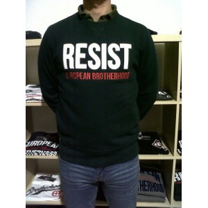 EB Green Sweatshirt Resist""
