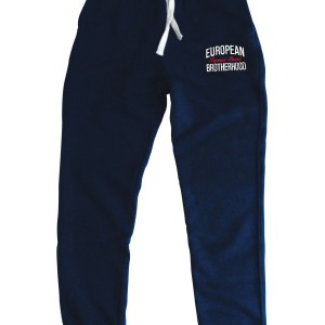 EB Blue Sweatpants Slim Fit