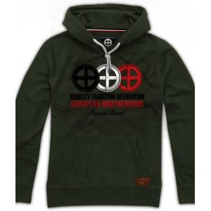 Identity – Tradition – Revolution Green Army Hoodie