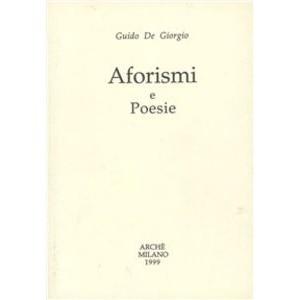 Aforismi e poesie