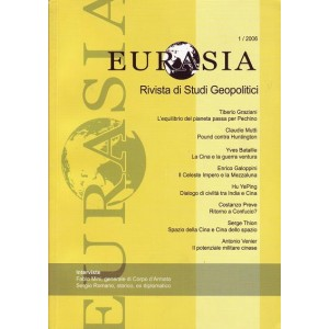 Eurasia - Rivista di studi geopolitici anno 2006 n.1