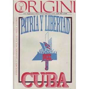 Origini - Cuba (n.6 aprile 1992)