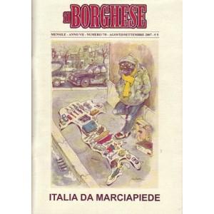 Il Borghese 2007 Agosto/Settembre n.7/8
