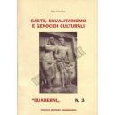 Caste, egualitarismo e genocidi culturali