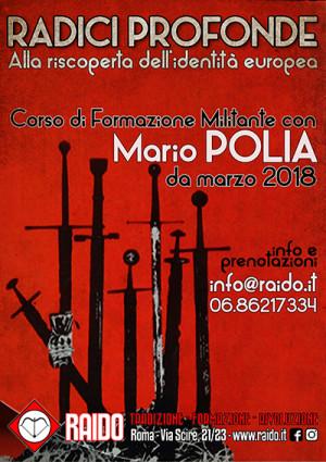Radici Profonde – corso di Formazione Militante con Mario Polia