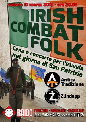 IRISH COMBAT FOLK